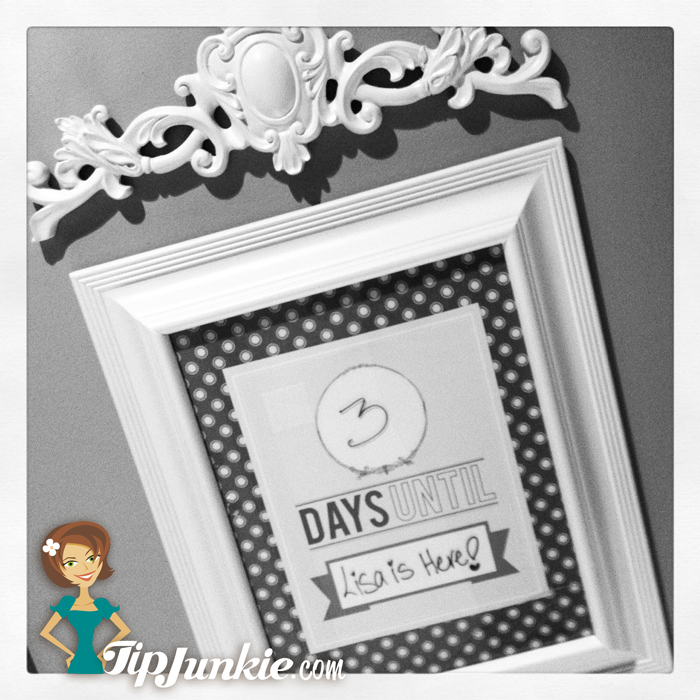 Free Master Count Down Calendar Template - DISNEY?! | Craft Projects