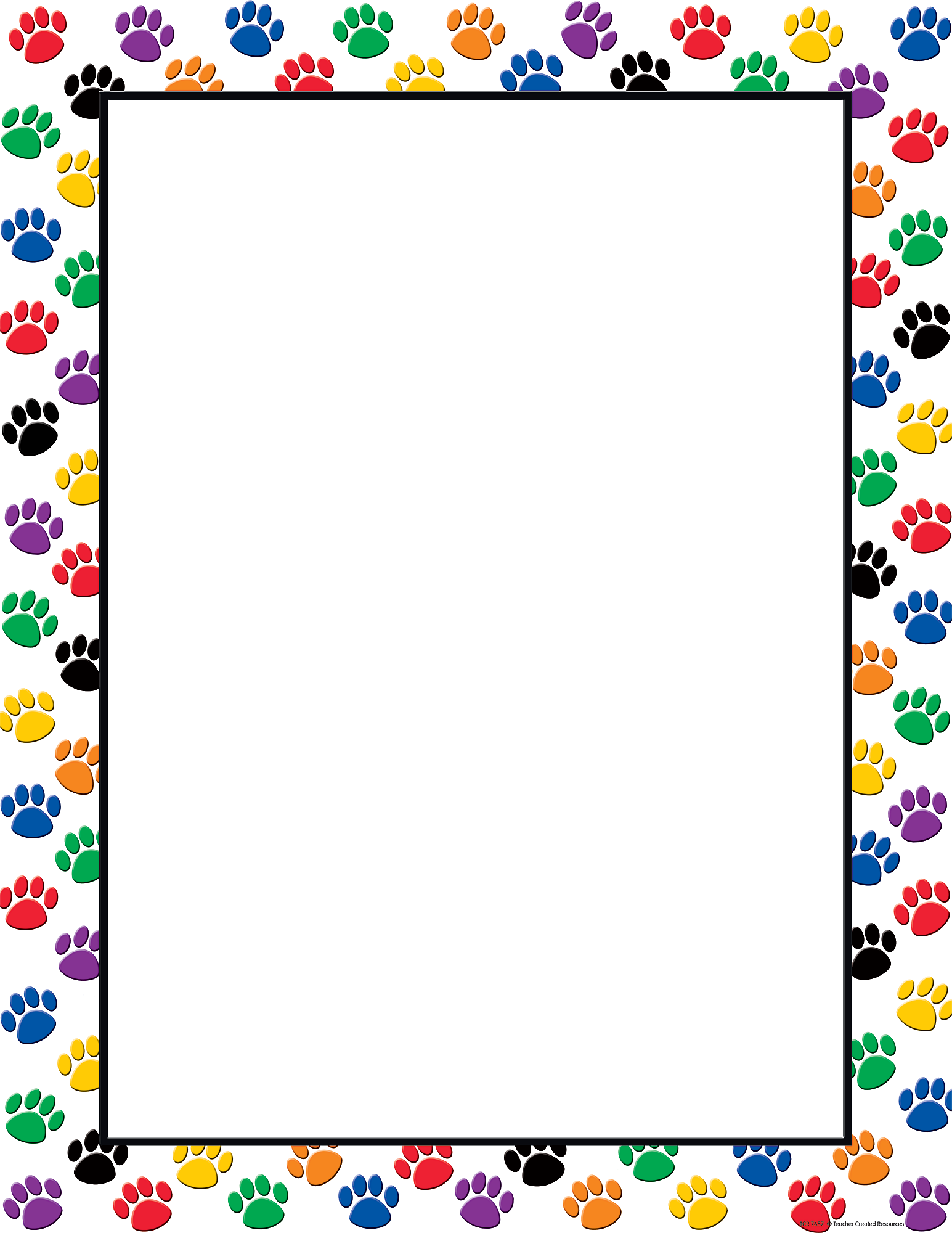 This is a photo of Smart Paw Patrol Borders