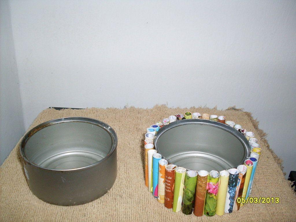 Manualidades con latas de refrescos recicla y crea - Manualidades faciles con latas ...