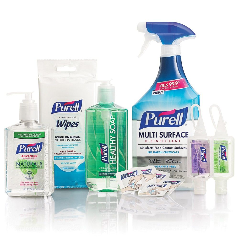 Purell Home Wellness Kit Hand Sanitizer In 2020 Hand Sanitizer