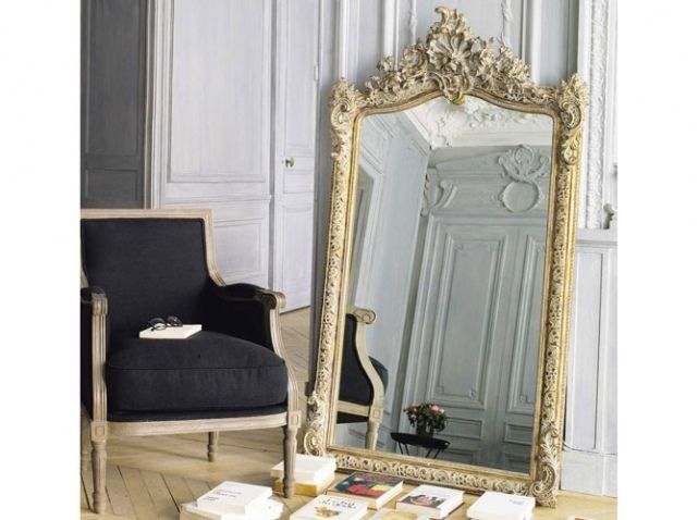 nos 25 miroirs pr f r s elle d coration miroir baroque baroque et maison du monde. Black Bedroom Furniture Sets. Home Design Ideas