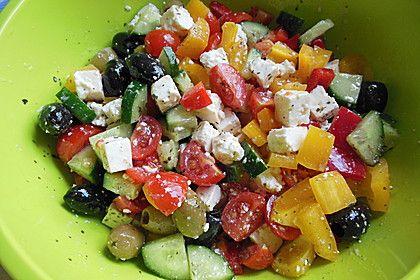 Griechischer Salat von cj83 | Chefkoch