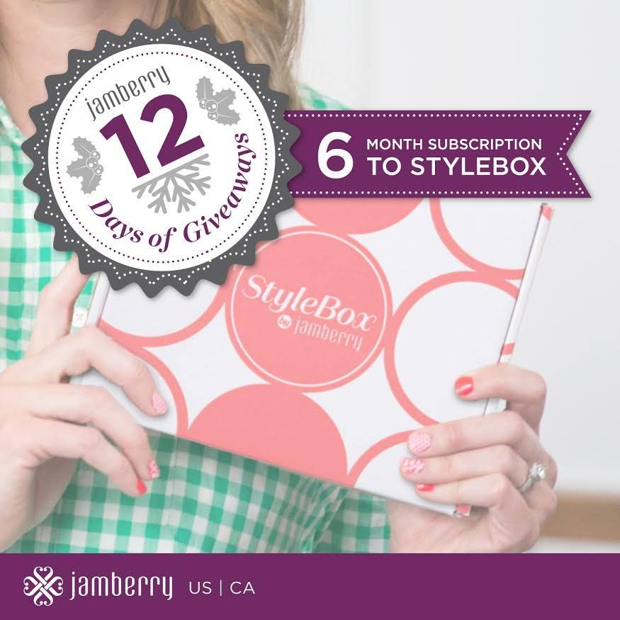 12 Days of Giveaways, Day 6: Six month StyleBox Subscription! Can't win if you don't play!