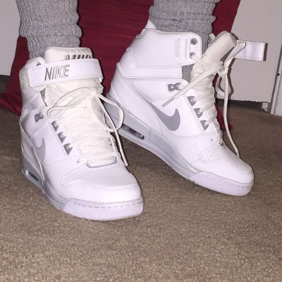 Womens nike high top wedges size 8 Nike high tops, Nike high and