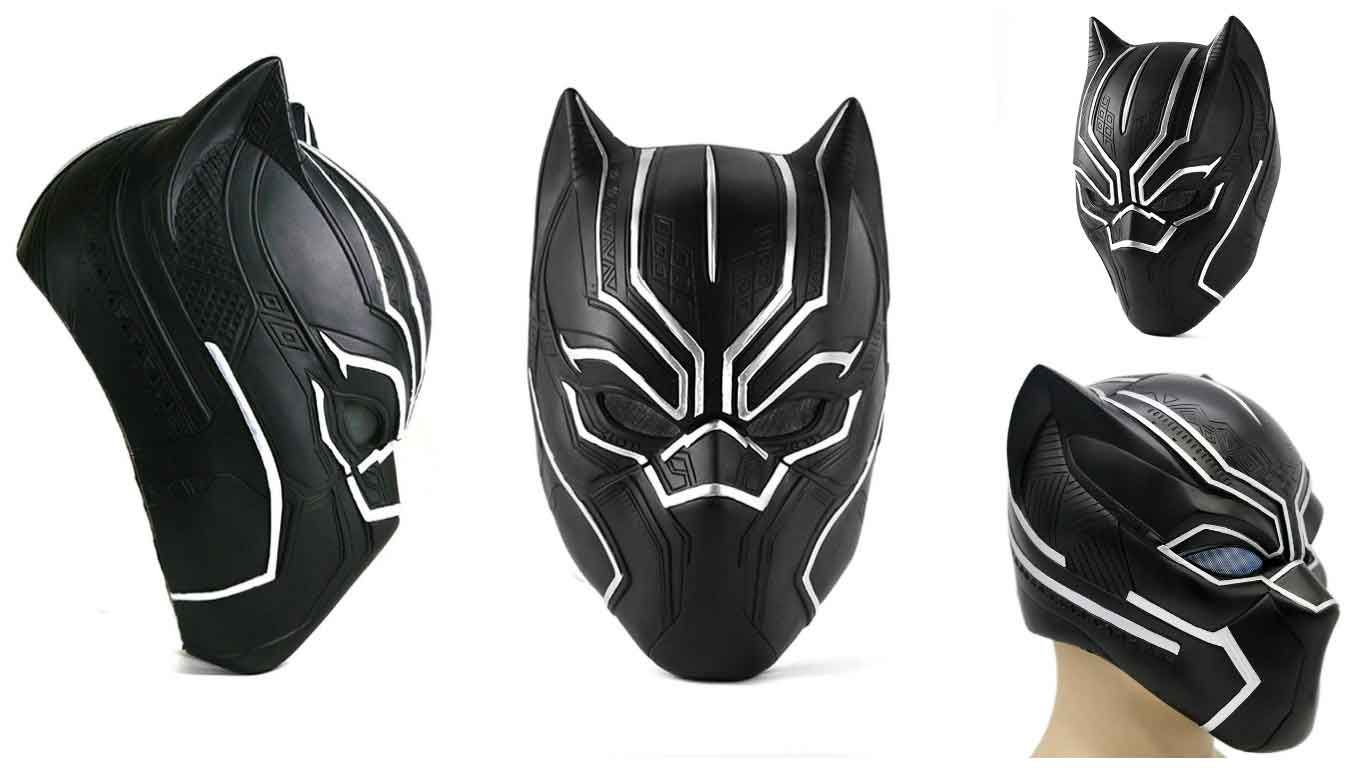 Black Panther T/'Challa Superhero Masks Helmets Halloween Party Cosplay Props