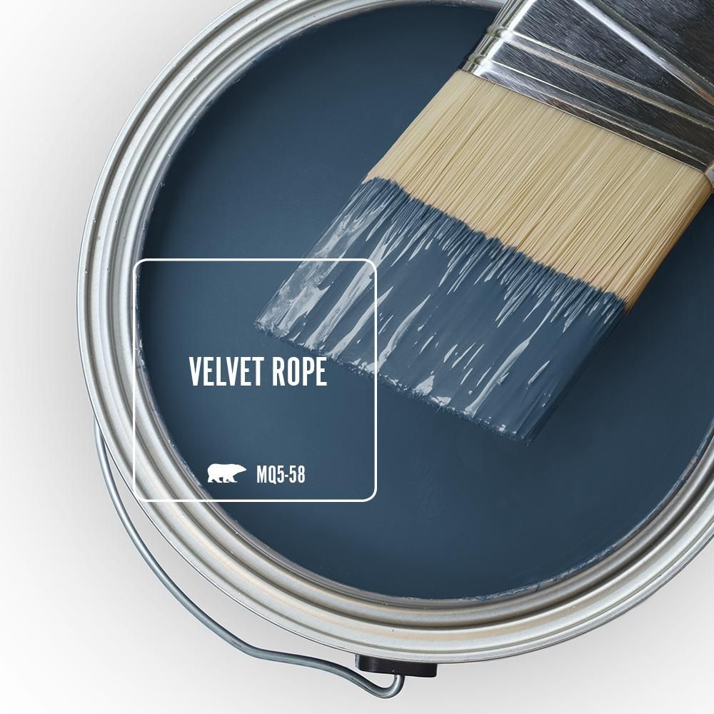 Behr Ultra 1 Qt Mq5 58 Velvet Rope Flat Exterior Paint And Primer In One 485304 The Home Depot Behr Marquee Paint Interior Paint Paint Colors For Home