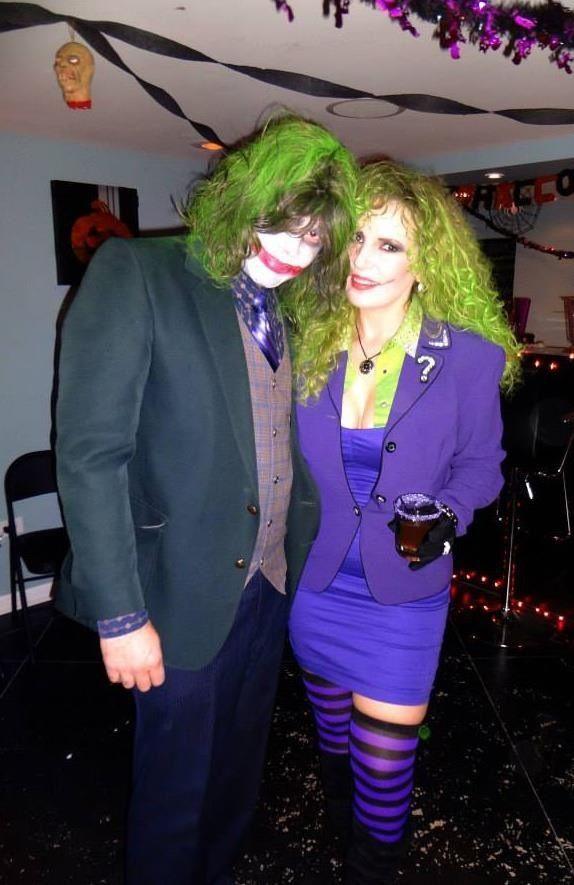 joker costume his and hers female joker costume diy halloween costume mrmrsjoker joker - Joker Halloween Costume For Females