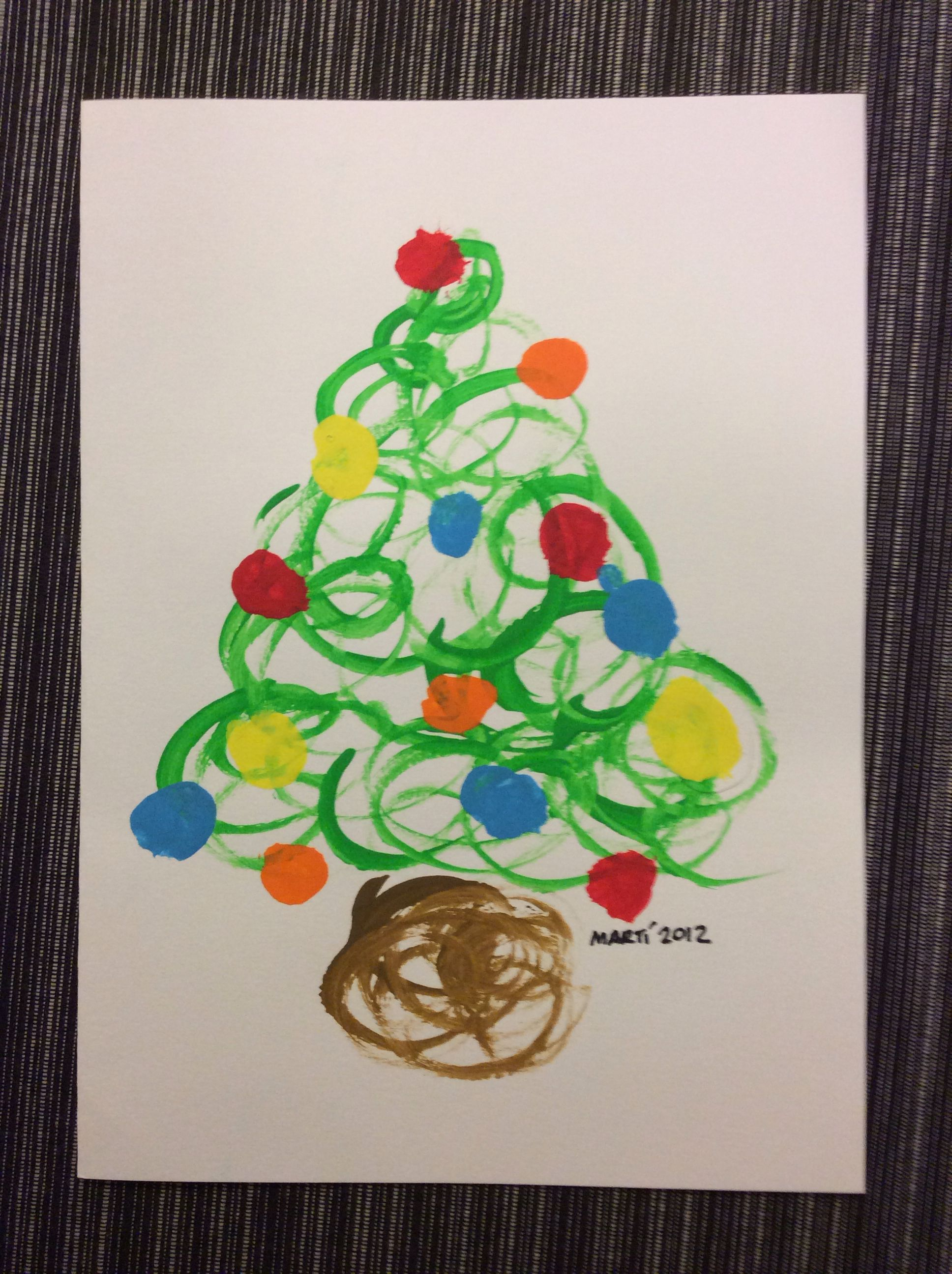 Manualidades Ninos Navidad Postales.More Trees For Kids To Do Everything Christmas Navidad