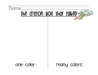 First Grade to the Core: Search results for crayon box