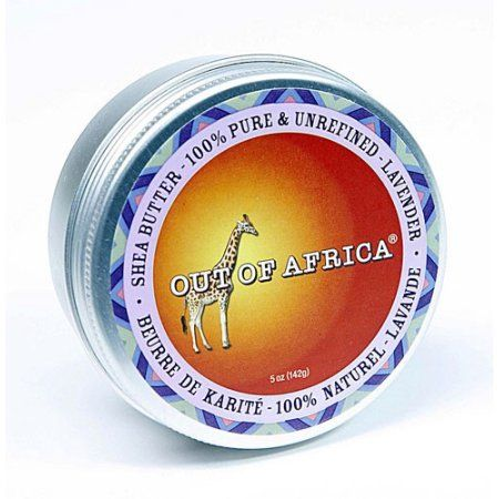Out Of Africa Shea Butter Tin, Lavender, 5 Oz