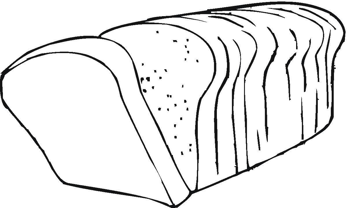 Coloring Pages Bread Coloring Pages Coloring Sheets Color