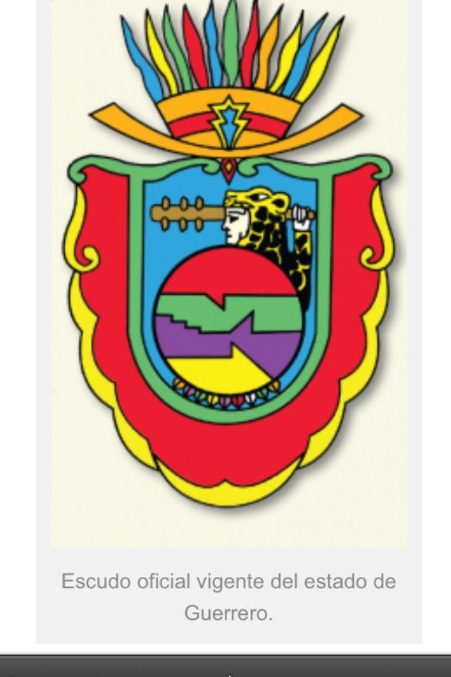Escudo Oficial Del Estado De Guerrero Mexico Guerreros Escudo Tatuajes De Animales