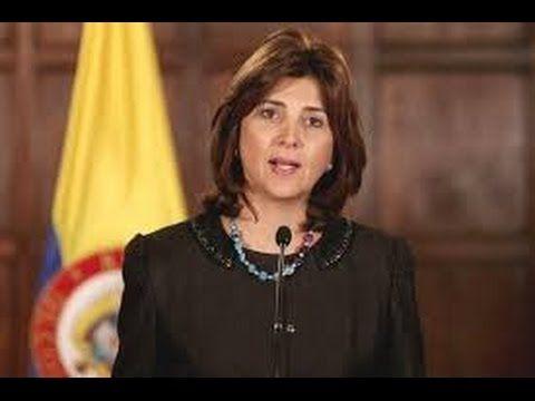 Canciller Colombiana;Con la victoria del No, el pais quedó mal, el panor...
