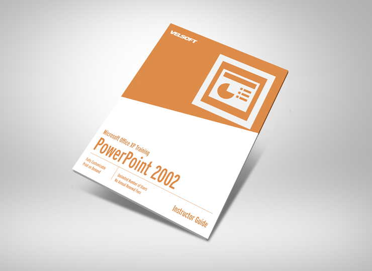Microsoft XP PowerPoint 2002 Basic Courseware ➜ To DOWNLOAD this Free as a sample click on the image above. #velsoft #courseware #trainingmaterials