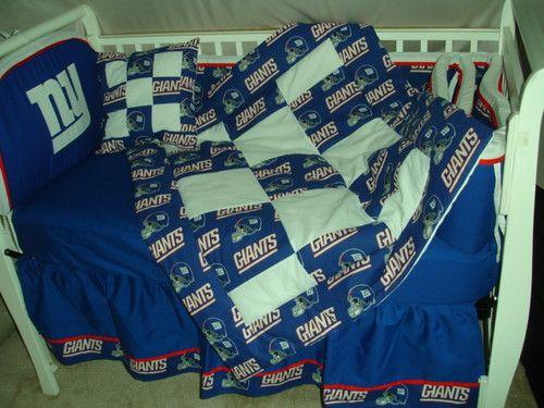 Baby Nursery Crib Bedding Set W Ny Giants New York It
