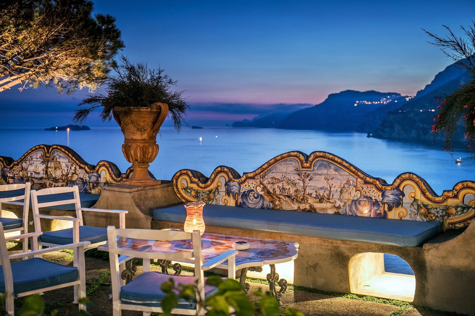 Historic 5 Star De Luxe Hotel On The Amalfi Coast Il San Pietro