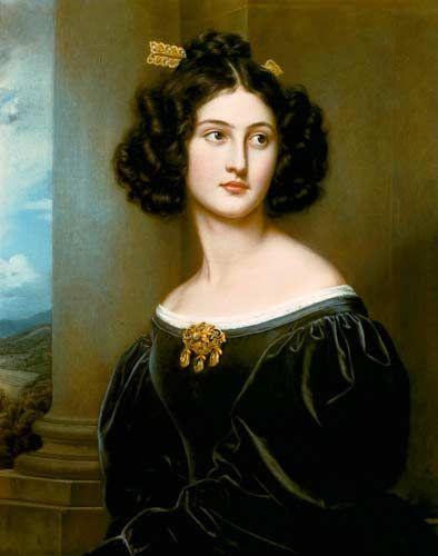 Joseph Karl Stieler (1781-1858)  Nanette Kaula