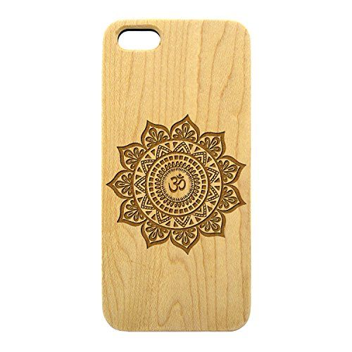 Fashion Wood Phone Case Laser Etched Hindu Om Mandala iPhone 5/5s (Maple) JewelryVolt http://www.amazon.com/dp/B00PV7Q8Y4/ref=cm_sw_r_pi_dp_SNj7vb059ESJ1