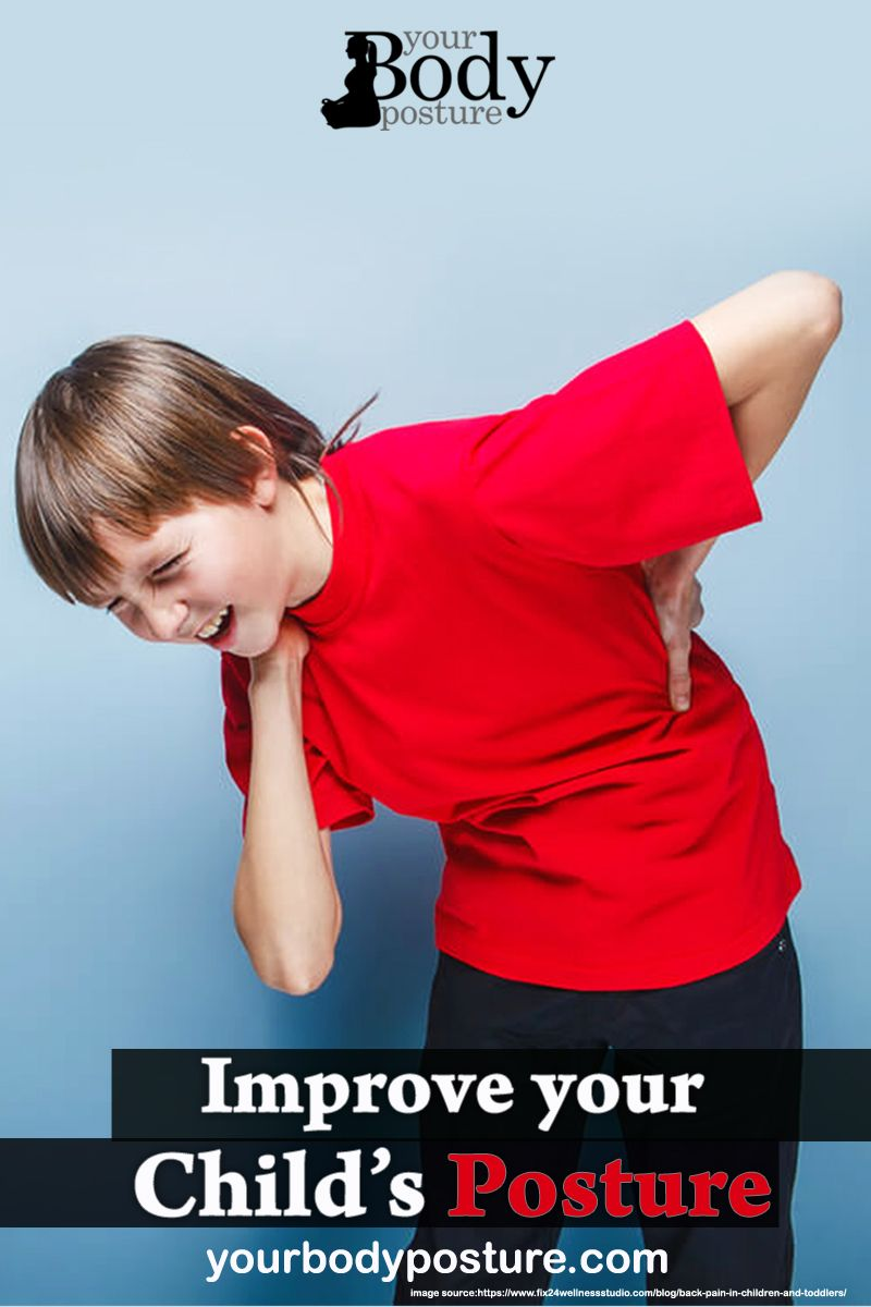 How to improve your child's posture - Your Body Posture