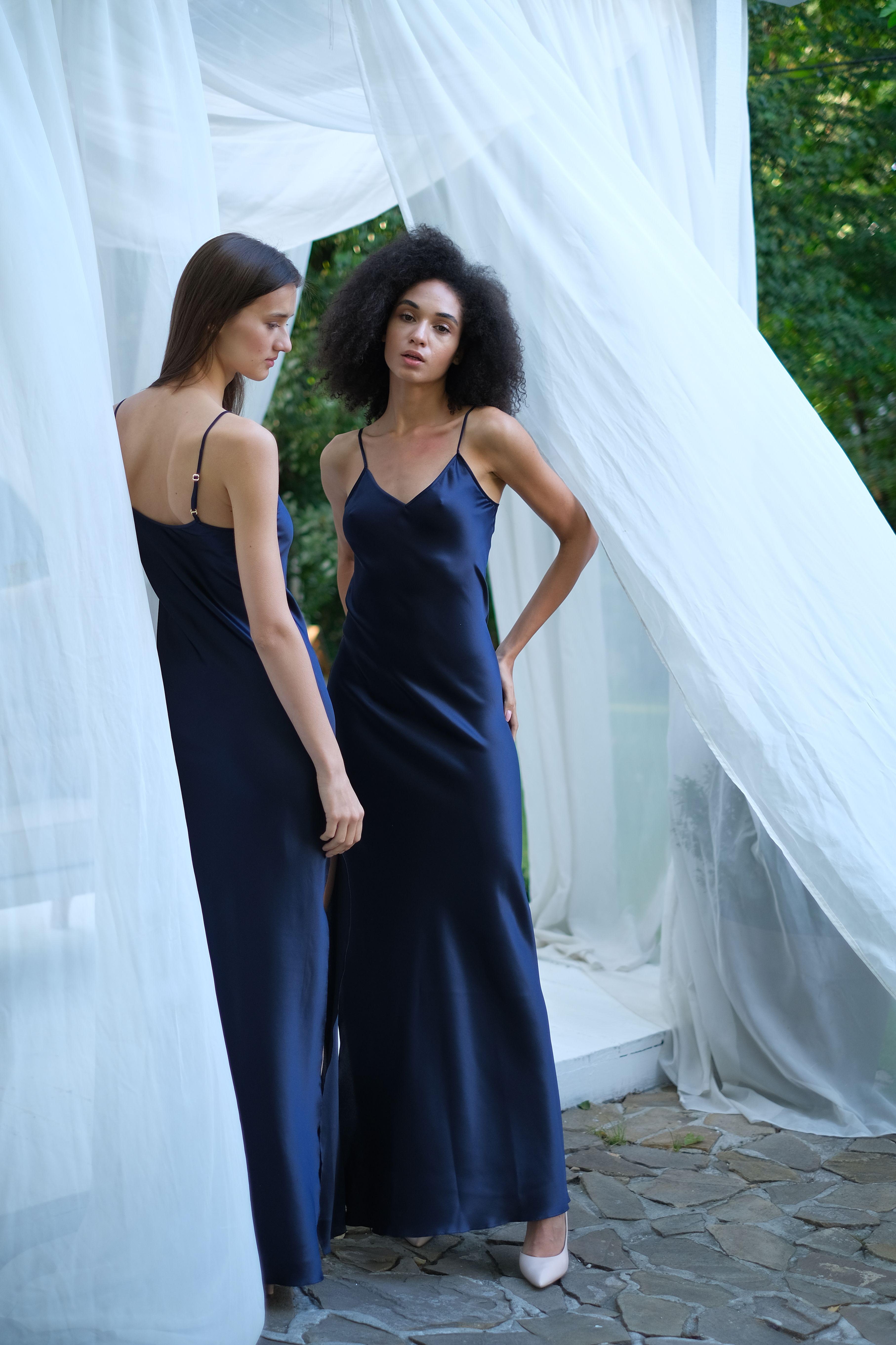 14++ Silk maxi dress information