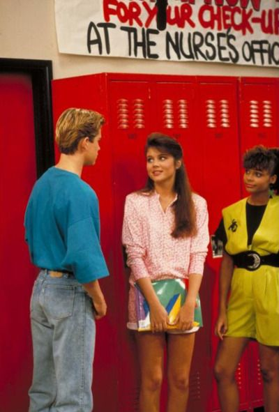saved by the bell - 90s style!