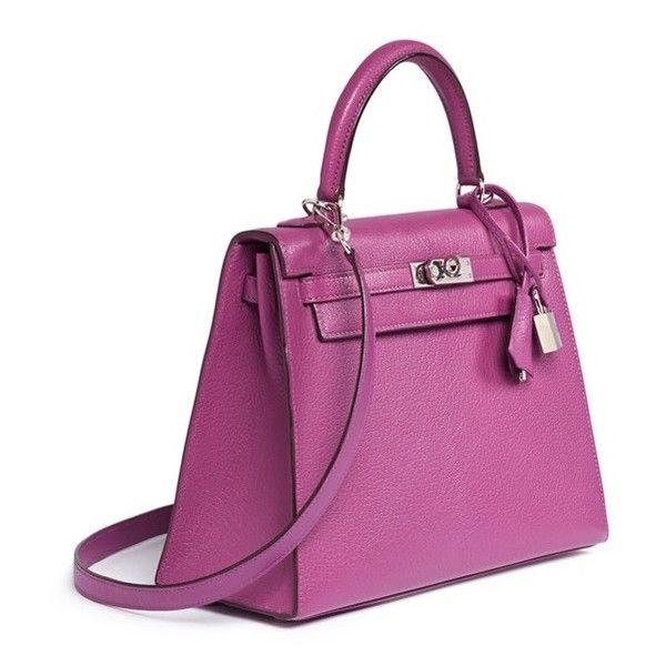 c5fe25c353 ... promo code vintage hermès kelly 25cm leather bag 753.484.695 vnd liked  on polyvore 27b1a