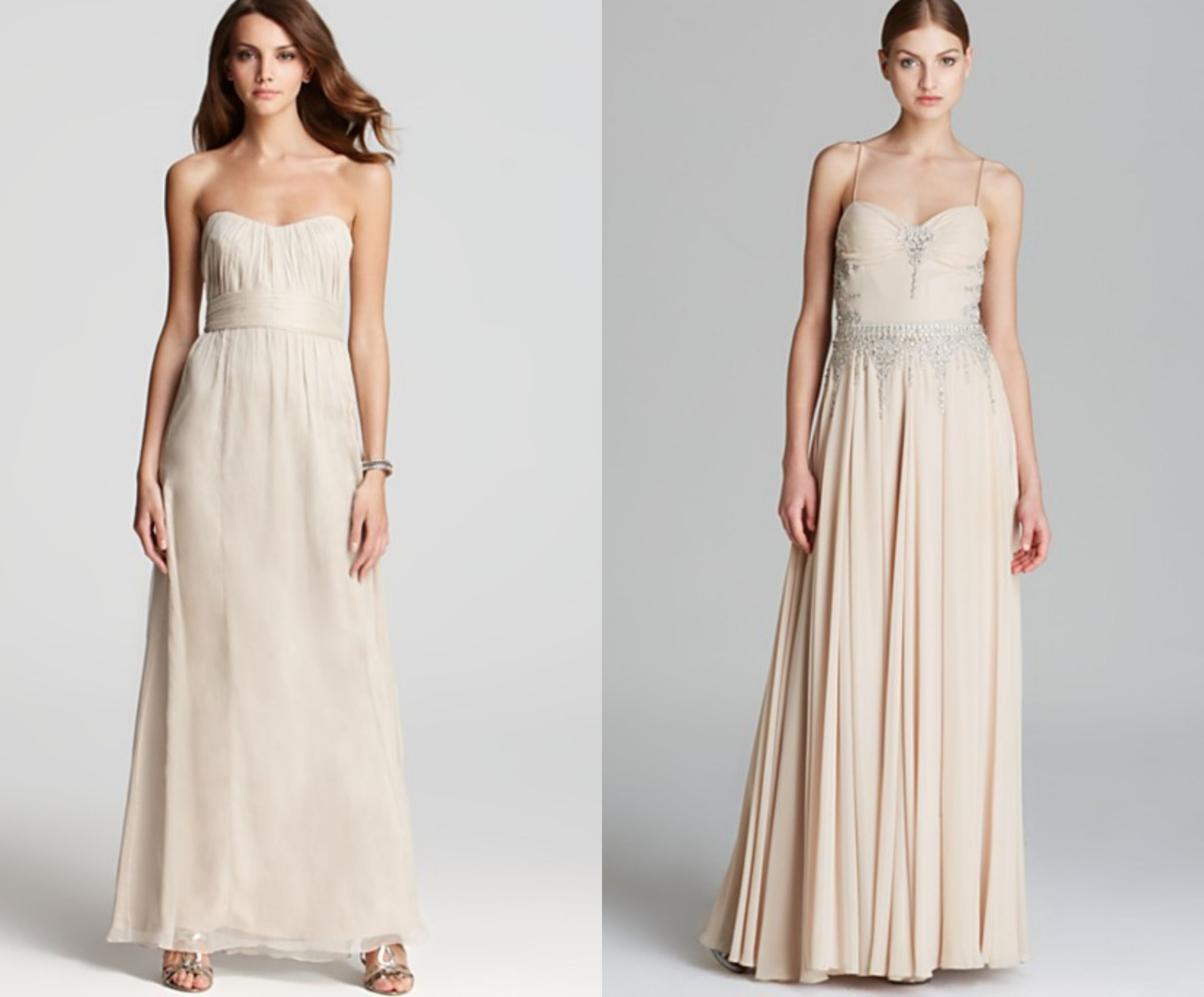 Champagne bridesmaid dresses champagne rustic wedding chic and champagne bridesmaid dresses ombrellifo Gallery