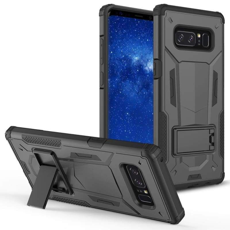 Hybrid Transformer Cover with Kickstand and UV Coated PC/TPU Layers, B