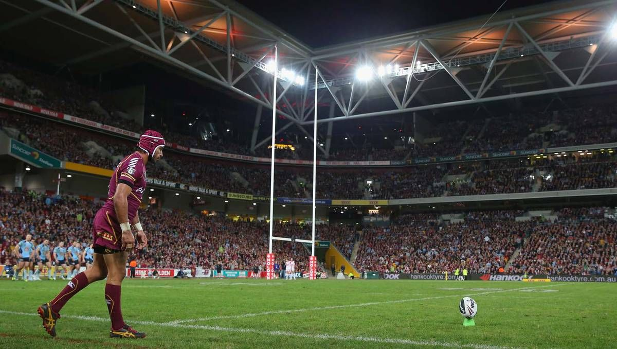 State of Origin II at Suncorp Stadium on June 26 saw Queensland defeat NSW 26-6. Picture: Getty Images