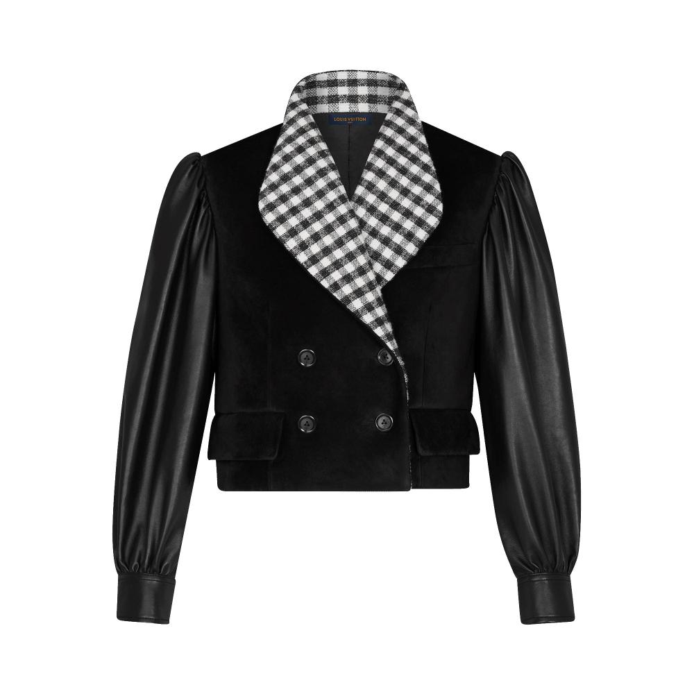 Leather Jacket Ready To Wear Louis Vuitton Quần Ao