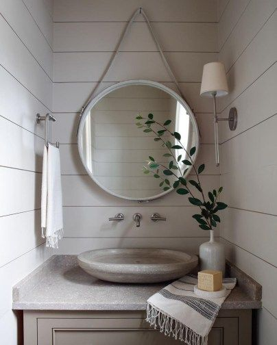 85 Charming Rustic Bedroom Ideas And Designs 4 In 2020: 47 Affordable Small Powder Room Decor And Design Ideas In