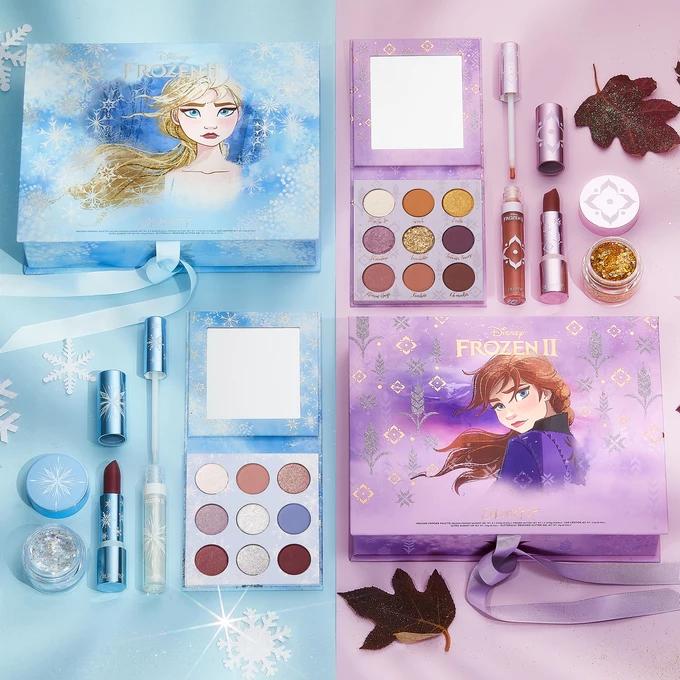 Disney Frozen 2 Colourpop Disney Makeup Frozen Makeup Colourpop