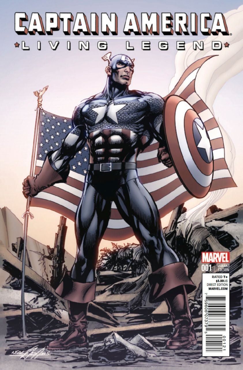 Captain America: Living Legend # 1 (Variant) by Neal Adams
