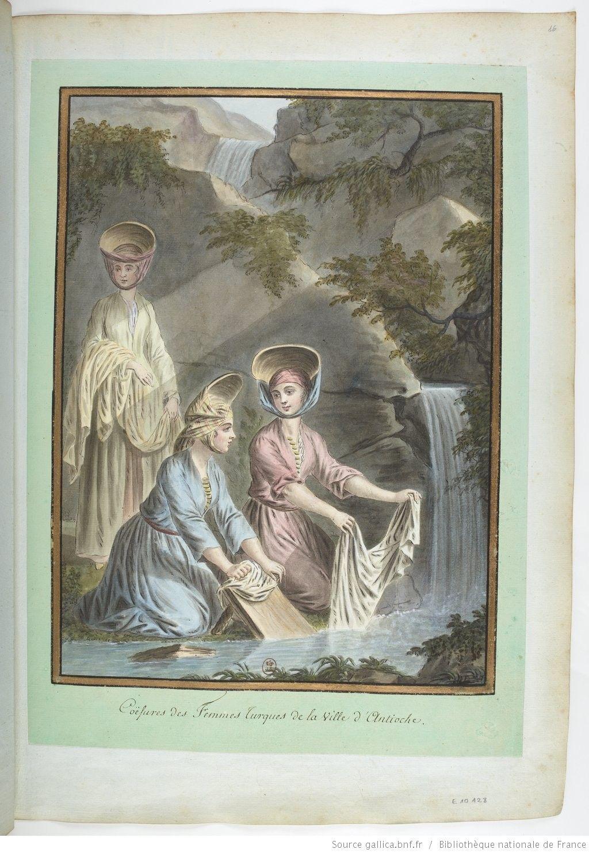 Coëfures des femmes Turques de la ville d\'Antioche : [dessin ...