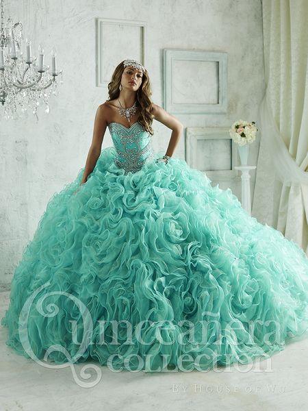 67a31c1e82d Find pretty quinceanera dresses and vestidos de quinceanera at Quinceanera  Mall! Turquoise quinceanera dresses