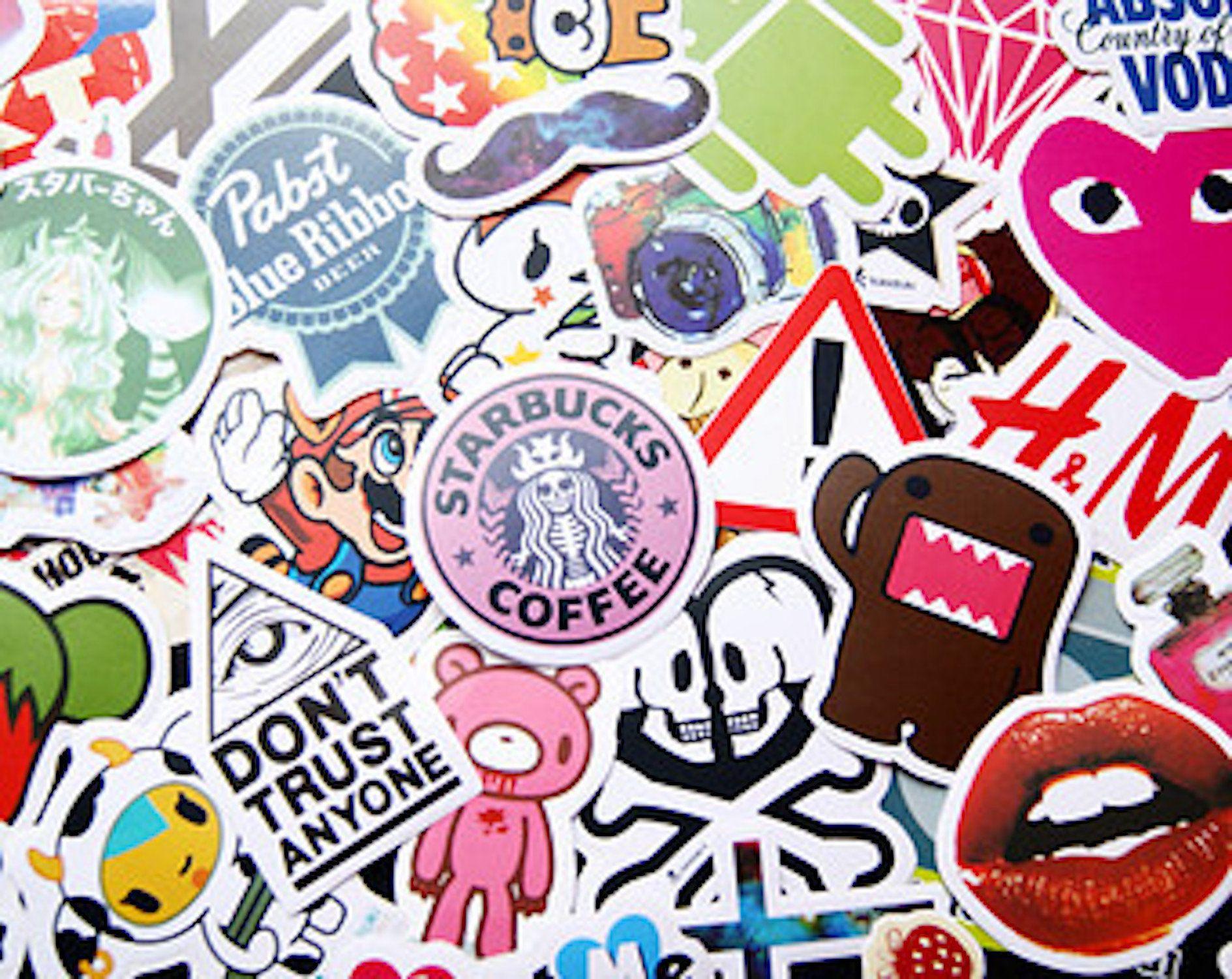 Show Me Your Universe Art Sticker Bubble-Free Sticker