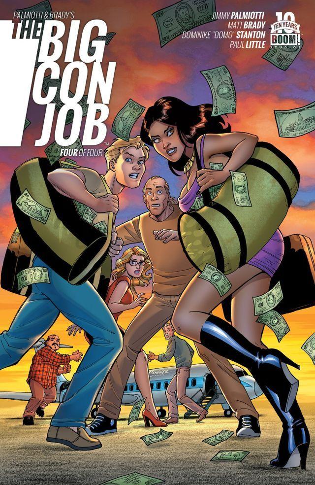 Palmiotti and Brady's The Big Con Job #4 #Boom #PalmiottiAndBrady #TheBigConJob Release Date: 6/10/2015