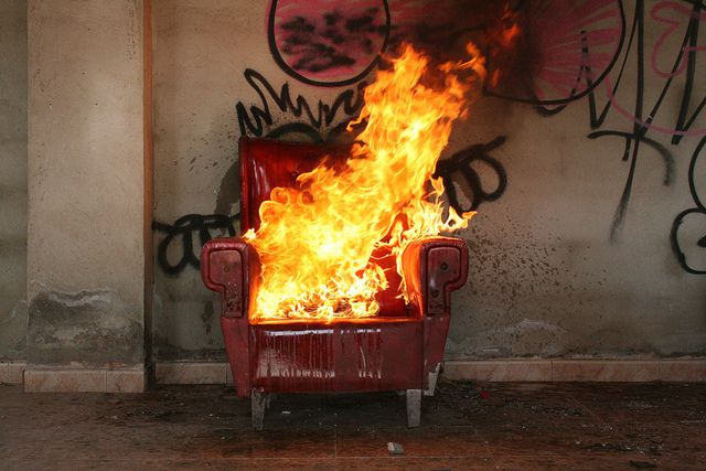 Chair On Fire   Google Search