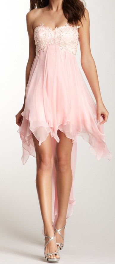 Petal Prom Dress. I actually like this short one! | OC | Pinterest ...