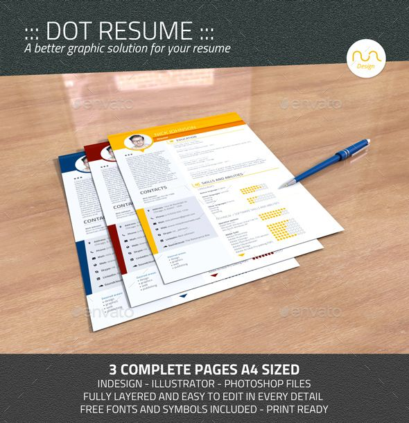 Dot Resume - Stationery Print Mock-Upu0027s Which You Needed - print resume
