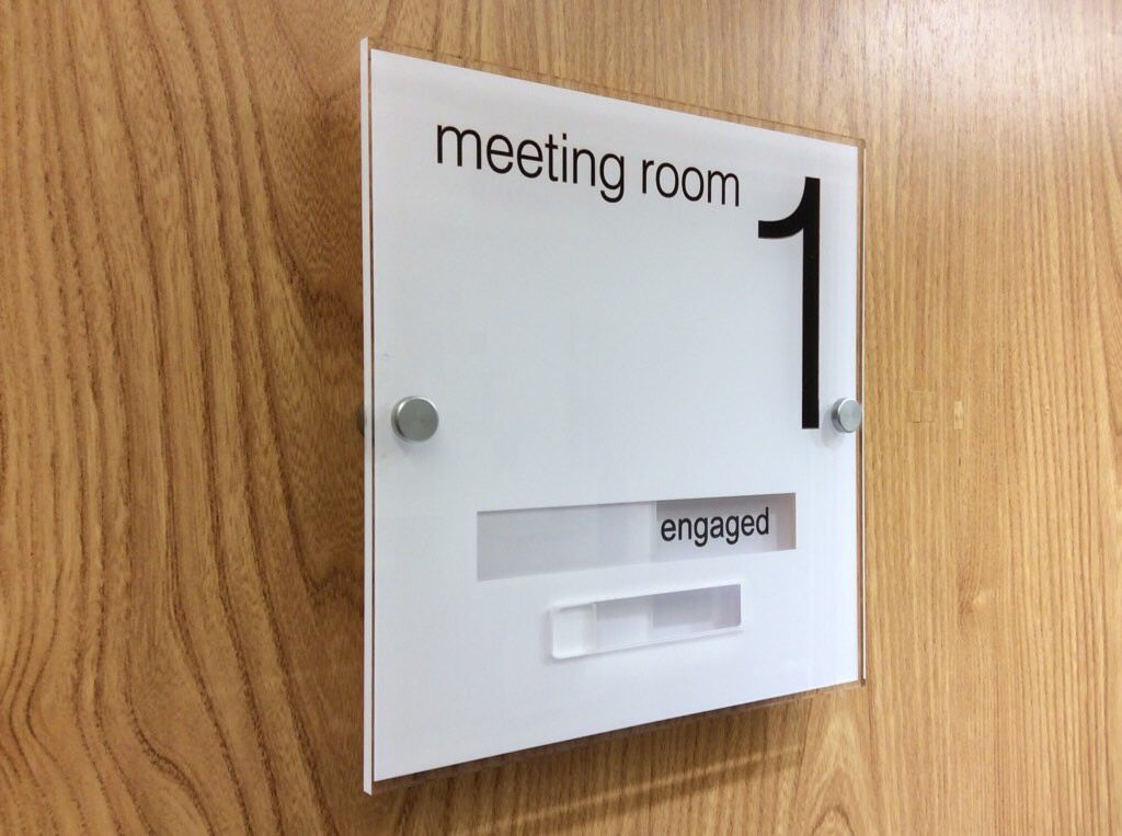 Modern Acrylic Sliding Door Signs Httpde Signage