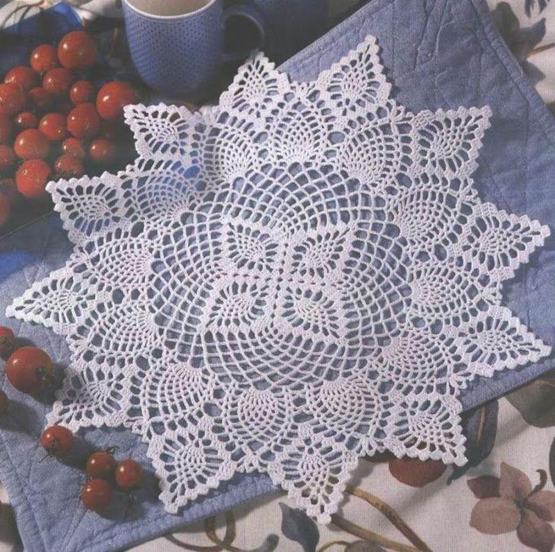 Mis Pasatiempos Amo el Crochet: 20 Moldes gratis de carpetas en ...