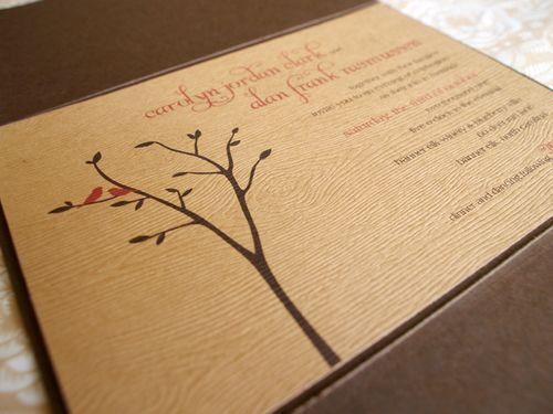 6a00e554ee8a2288330120a5286dfc970b 500wi Carolyn Alans Rustic Woodgrain Wedding Invitations