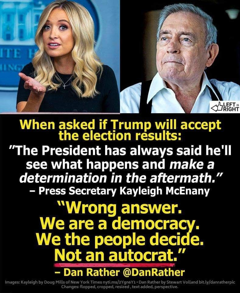 Pin By Gail Riffle On Historically Interesting In 2020 Dan Rather Real Politics Kayleigh Mcenany