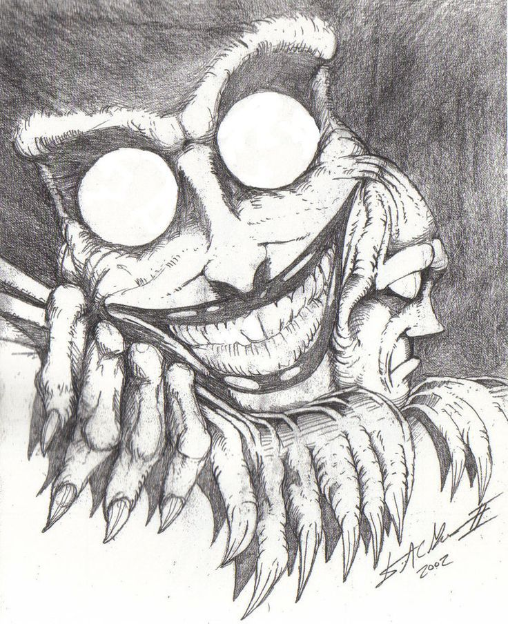 Easy Scary Halloween Drawings : scary, halloween, drawings, Drawing, Ideas, Scary, Drawings,, Creepy, Drawings