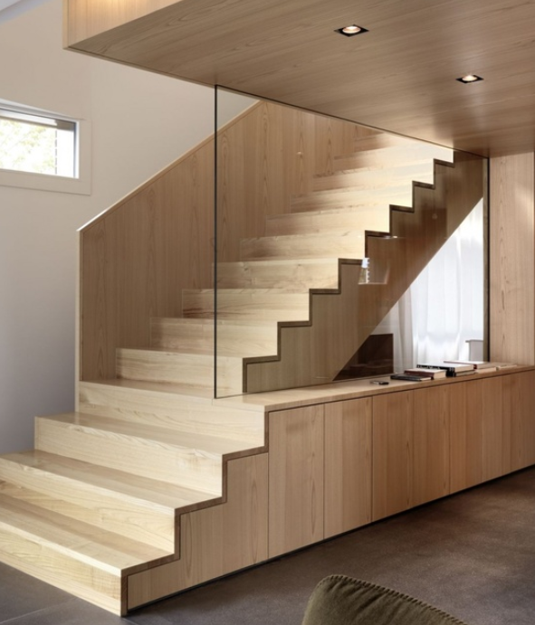 Best Solid Timber And Glass Stairs Design Modern Interior 400 x 300