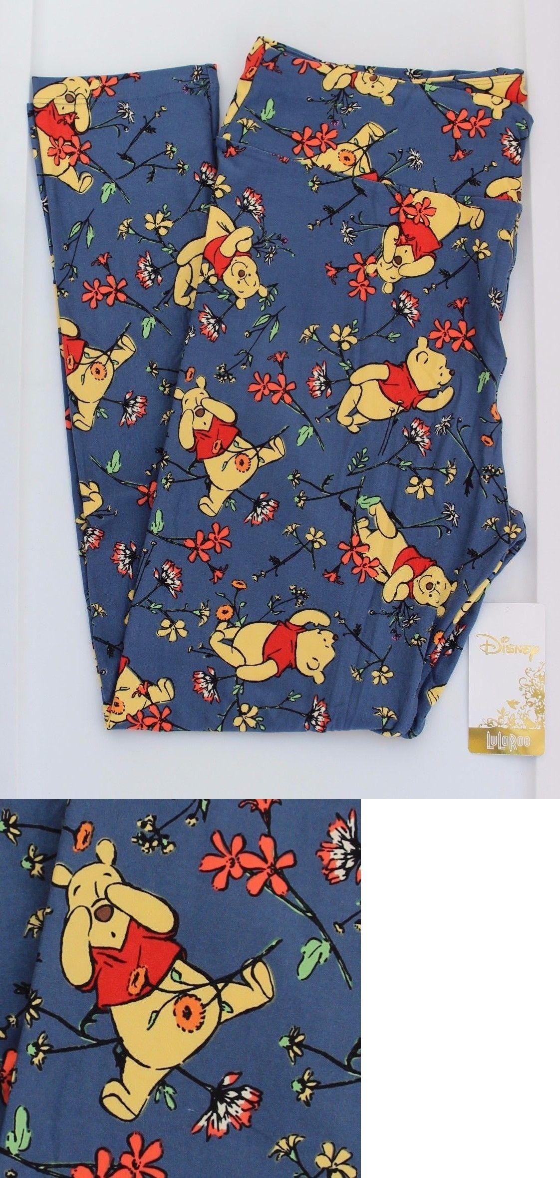ab326c3a41004f Leggings 169001: Tc Lularoe Disney Leggings Winnie The Pooh Tall And Curvy  Blue Rare Unicorn ! Nwt -> BUY IT NOW ONLY: $53.95 on eBay!