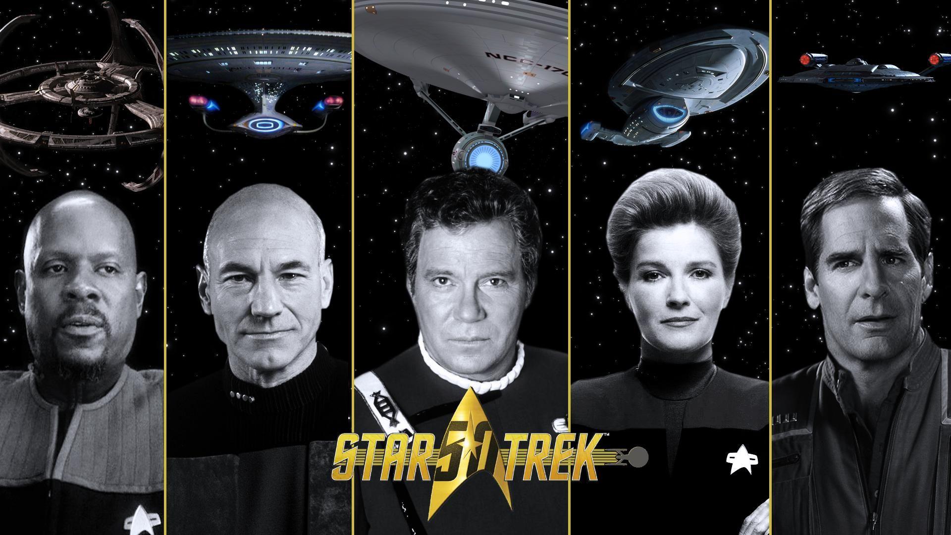 Star Trek 50th Anniversary Wallpaper [1920x1080] Need