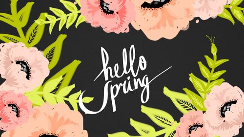 Hello Spring Frühling wallpaper, Frühling hintergründe