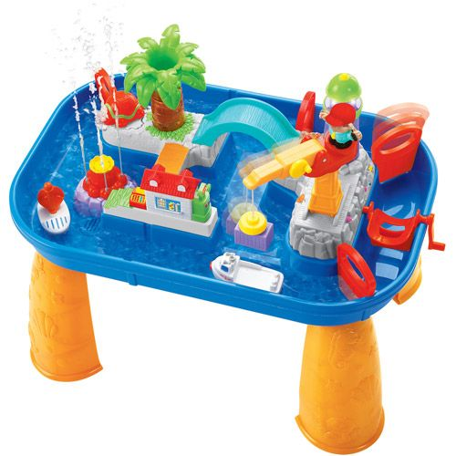water play table kiddieland activity water park play set table 20 ideas 28933
